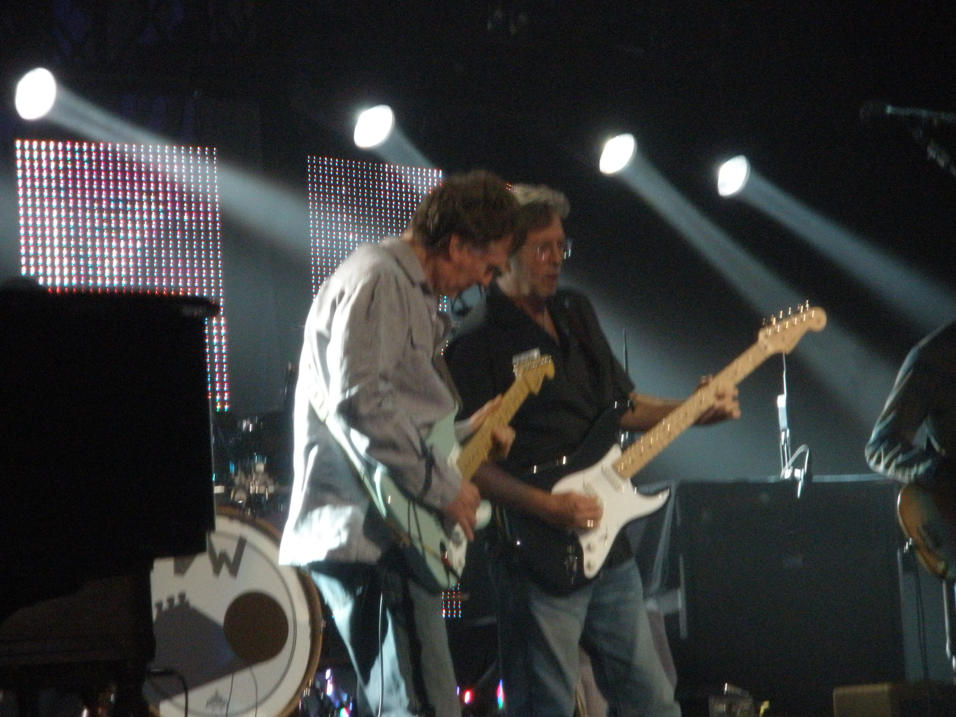 Eric Clapton and Steve Winwood