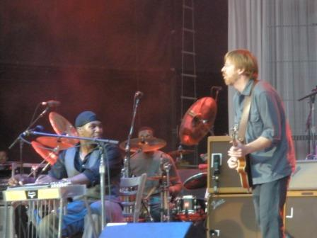 Trey Anastasio of Phish with Robert Randolph